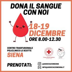 donazione sangue Siena