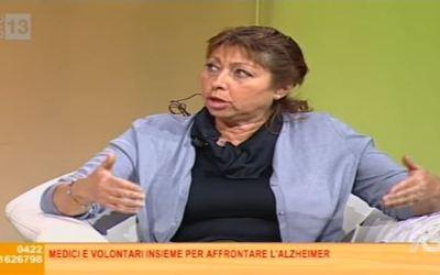 Intervista televisiva su Antenna 3 a Giuliana Tochet