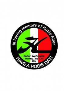 Adesivo in memory of Hobie
