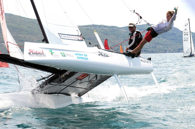 SPORT VELA BOGLIACO HOBIE MULTIWORLDS TIGER AND WILD CAT  MITCH BOOTH E RUBEN 31-07-2015