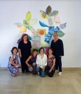 """<p>opera muraria istallata presso la sede dall'ASL città di Torino ( via s.Secondo 29)opera realizzata nella giornata formativa del """"Gruppo Famiglia"""" giugno 2016 </p>"""