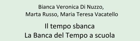Il tempo sbanca – La bdt a scuola, Erga Edizioni, Genova 2013