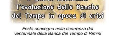 Ventennale Banca del Tempo di Rimini 2015