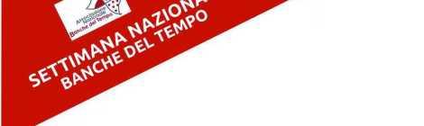 SETTIMANA NAZIONALE BANCHE DEL TEMPO 2015