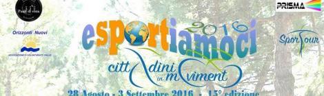 Esportiamoci 2016 – Viserba di Rimini - Con la partecipazione della vicepresidente dell'Associazione Nazionale delle Banche del Tempo Leonina Grossi