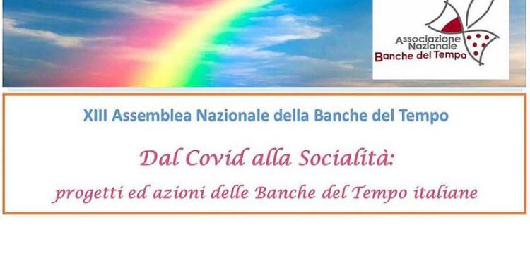 XIII Assemblea Nazionale delle Banche del Tempo - 16 e 17 ottobre 2020