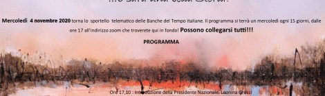 Sportello telematico delle BdT italiane - programma del 4 novembre 2020