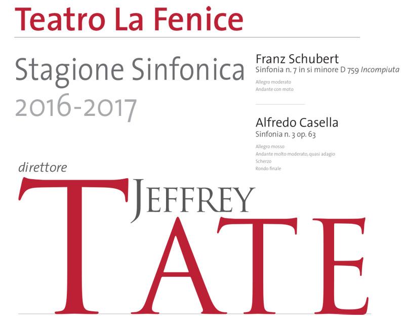 Sir Jeffrey Tate alla Fenice e al Malibran