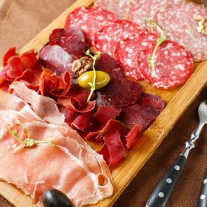Salumi affettati (Sliced cold meats)