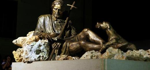 Monumento a San Rocco Palmi