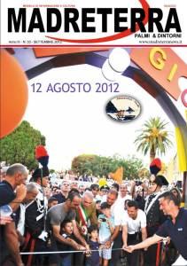 Copertina rivista Madreterra foto inaugurazione parco giochi