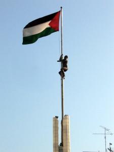 Centro Ramallah statua
