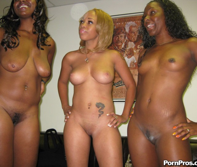 Orgy Of Black Pussy Wants Hard Cock