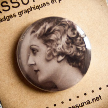 Badge Jeune Danseuse 32mm