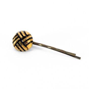Golden Henriette hair pin