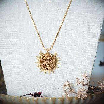 Collier Solare Flora