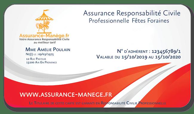 Assurance Responsabilité Civile Pro Fêtes Foraines Confiseries et Snacks