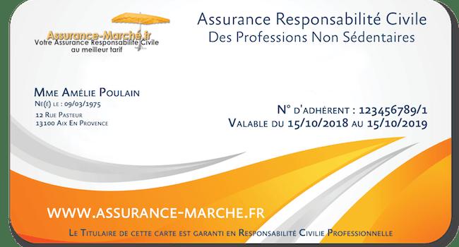 Assurance marché Responsabilité Civile Professionnelle