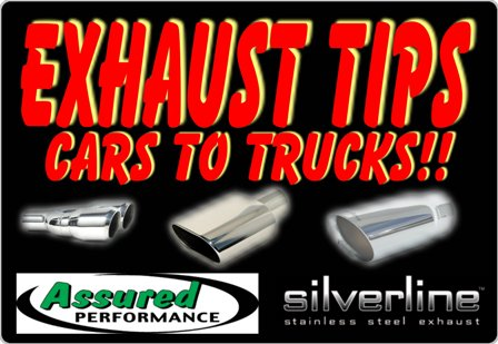 exhaust tip stainless exhaust tip