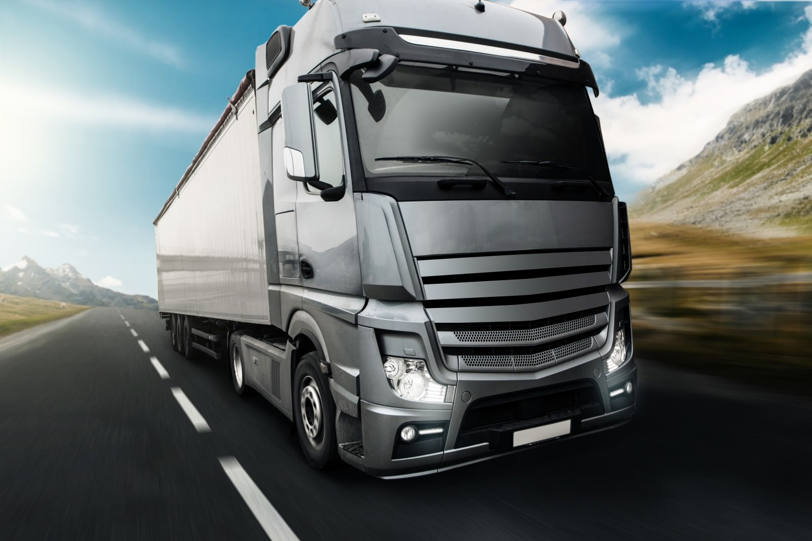 Picture-of-Modern-Truck
