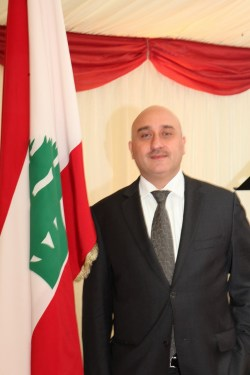 قنصل لبنان مازن كباره
