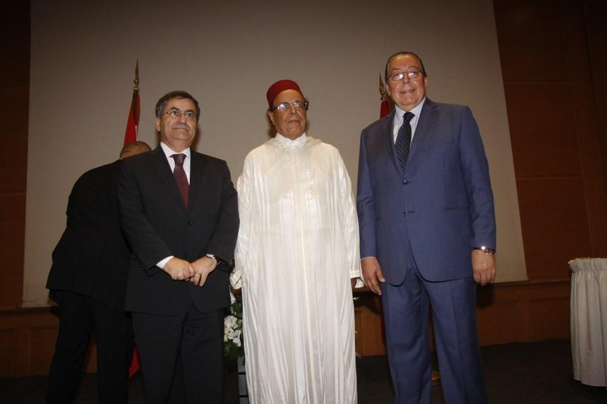 الوزير محمد المشنوق والسفير علي أومليل والنائب ميشال موسى