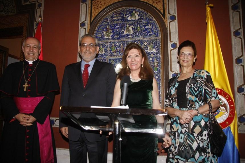حفل إستقبال لسفيرة كولومبيا في لبنان