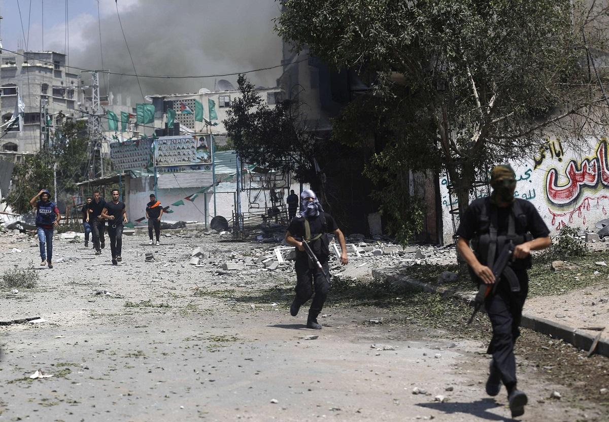 """غزة: لا لـ""""داعش"""""""