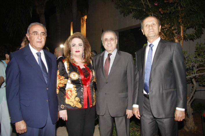 الوزير السابق مروان شربل، جوزيف حبيس، سهام حاراتي، خليل الهراوي