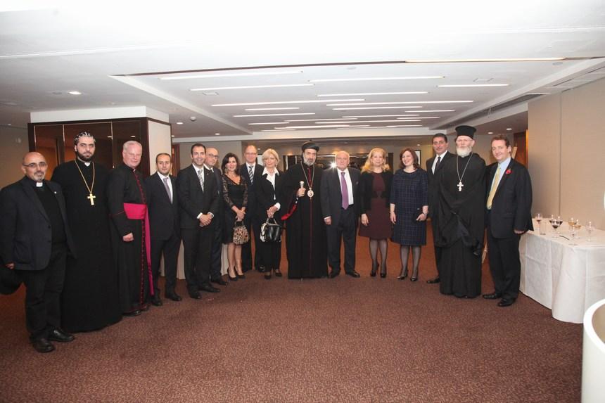 الجمعية الأرثوذكسية الإنطاكية في بريطانيا تحتفل بعشائها السنوي