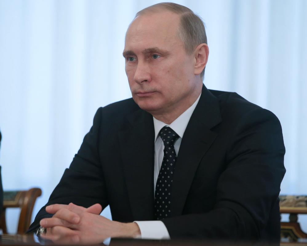 الرئيس فلاديمير بوتين: المستقبل ليس في صالحه