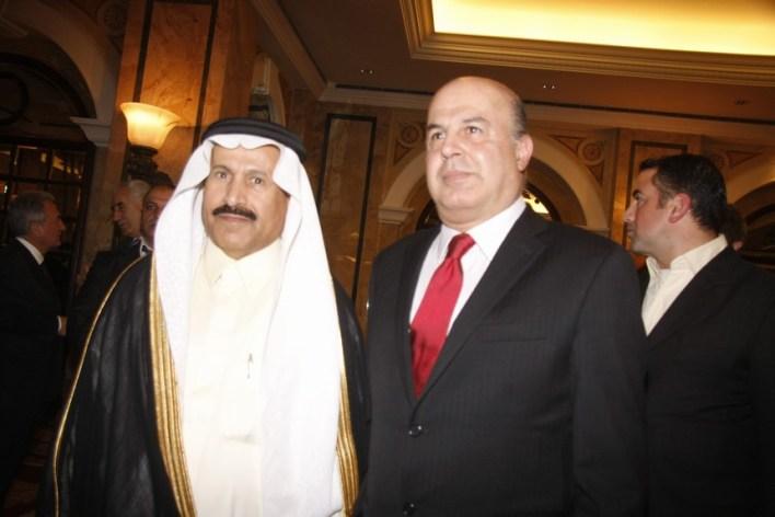 شادي مسعد والسفير السعودي علي عواض عسيري