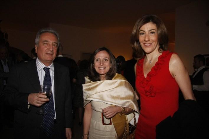 جوسلين سيف، مادونا حليم، سفير إيطاليا جوسيبي مورابيتو