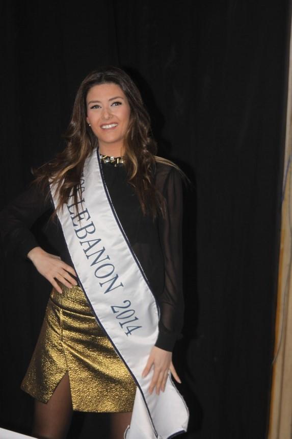 ملكة جمال لبنان سالي جريج