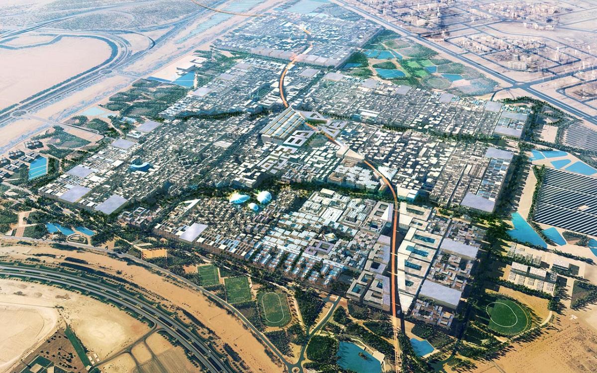 مدينة مصدر في أبو ظبي: مثال على مستقبل الطاقة الشمسية