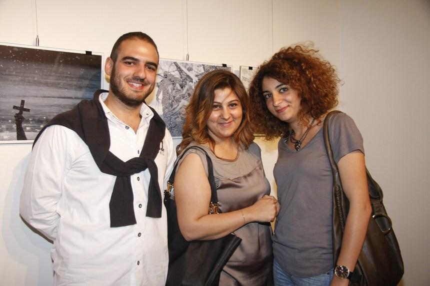 نادين عيتاني، مايا مدني، عارف الخوري