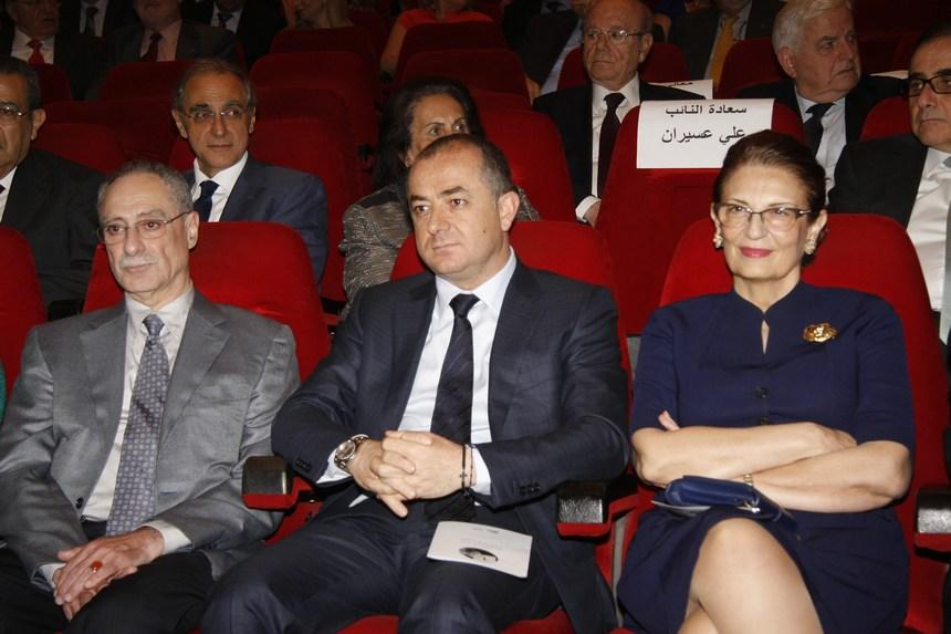 الوزيرة أليس شبطيني، الوزير الياس بو صعب، مالك الخوري