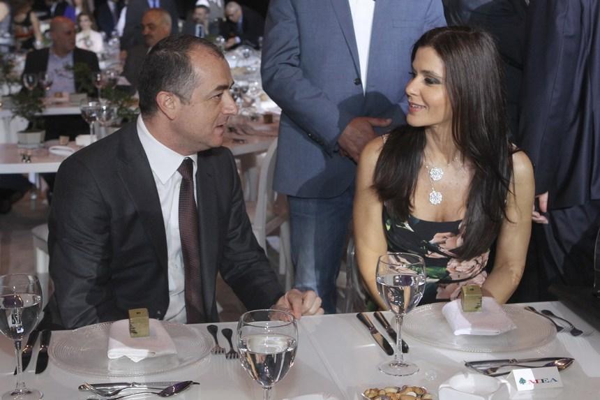 النائبة ستريدا جعجع والوزير الياس أبو صعب