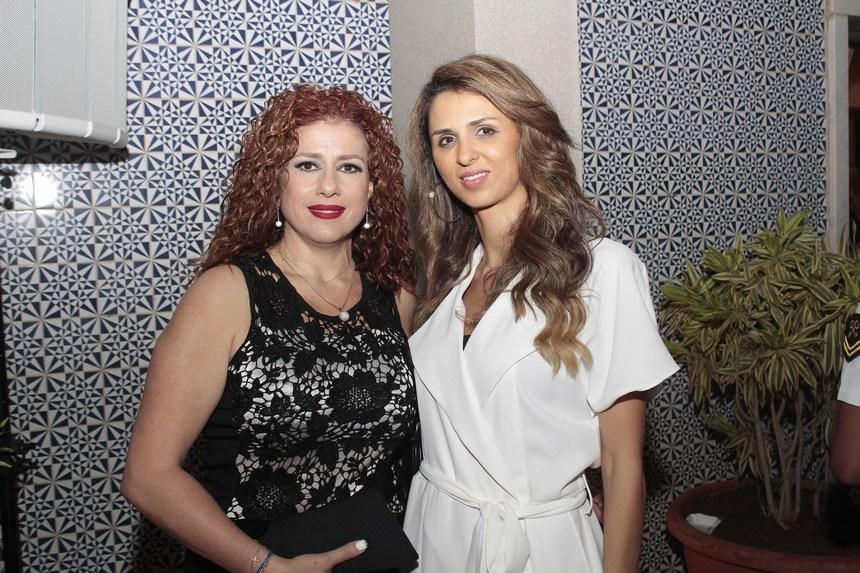جوليا إبراهيم وريما سعادة