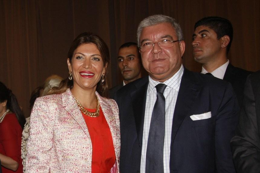 الوزير نهاد المشنوق والسفيرة ميرا ضاهر