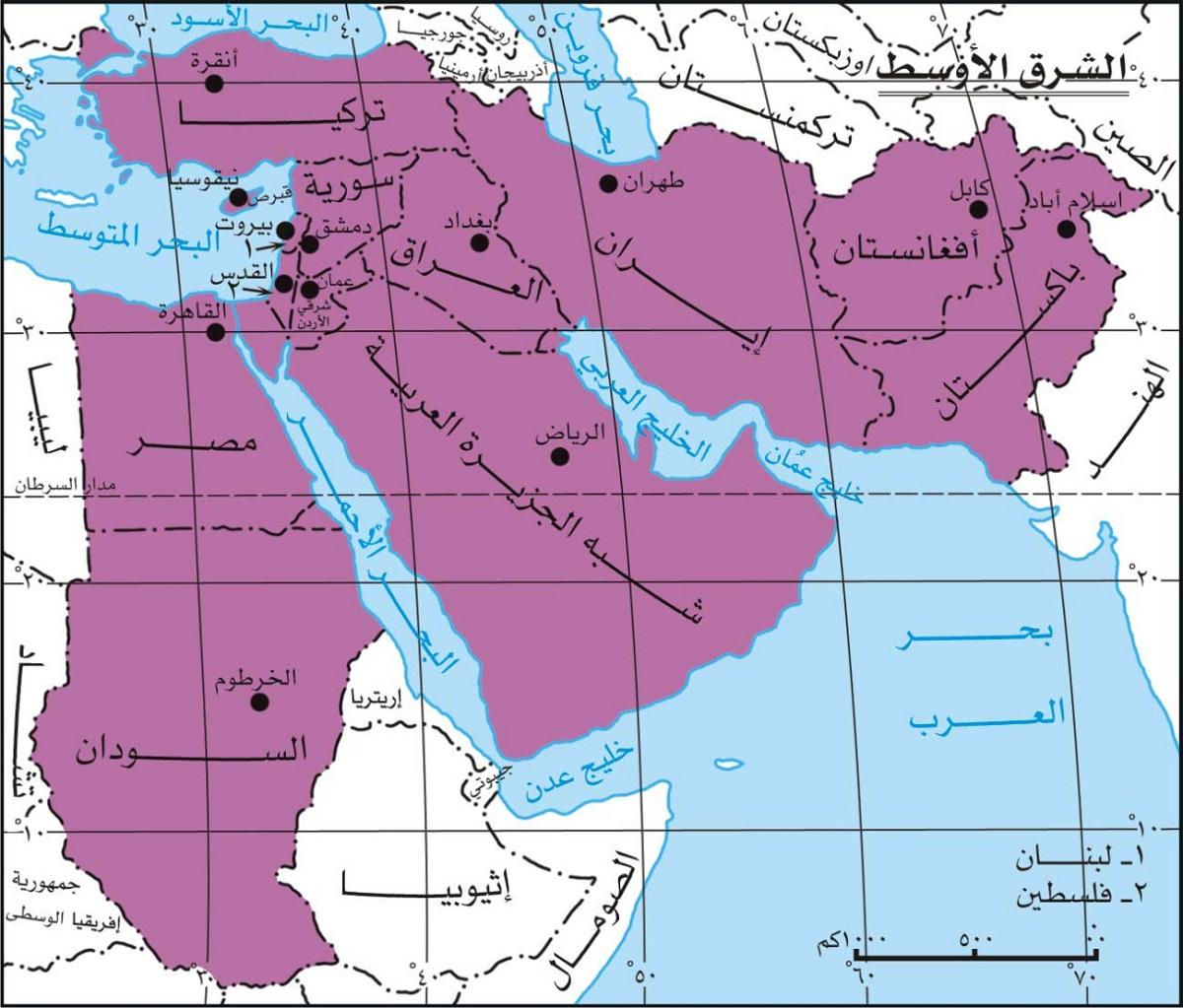 على المجتمع الدولي إنهاء صراعات الشرق الأوسط