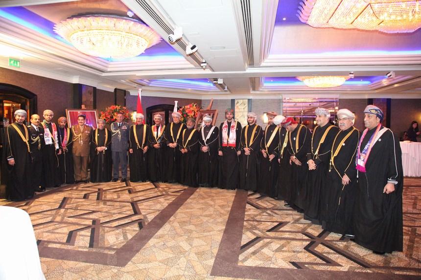 سفارة عُمان في بريطانيا تحتفل بعيد بلادها الوطني