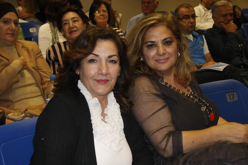 إلهام الأشقر وجومانا أبو مطر