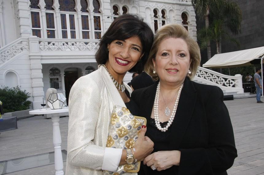 رنده الداعوق وميرنا أبو مراد