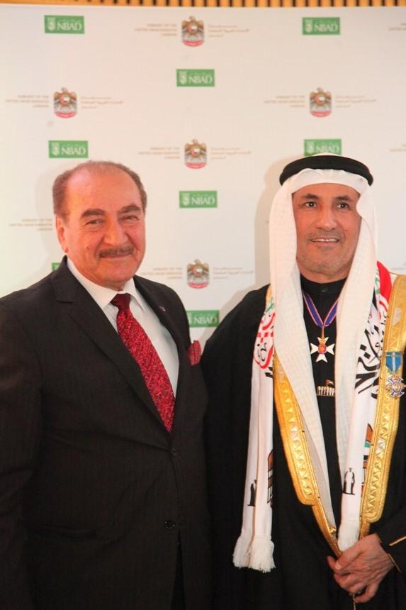 السفير عبد الرحمن المطيوعي ونظمي أوجي