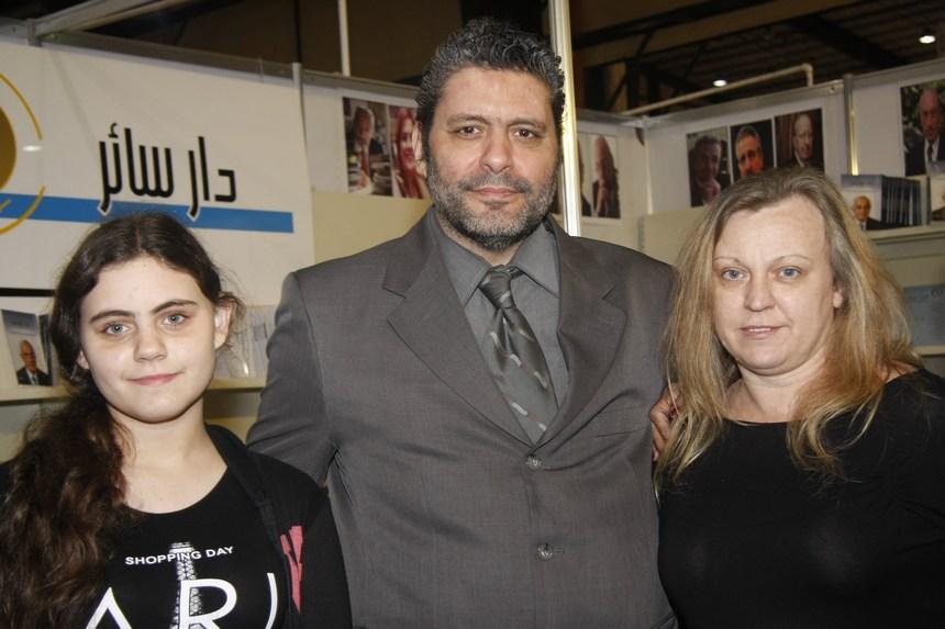 لورا، زياد، وجينيفر صليبي