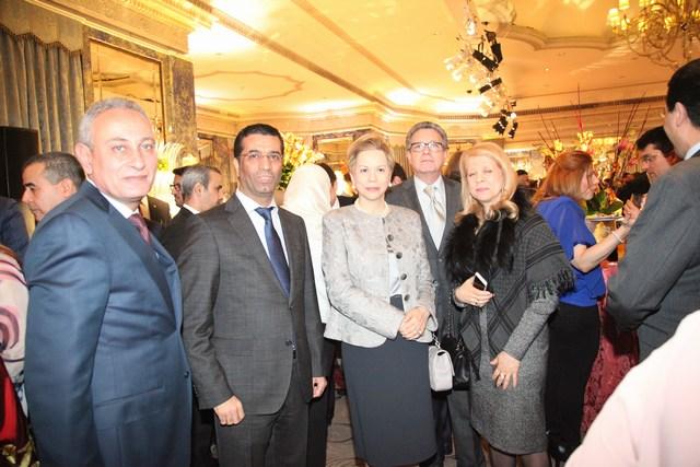 السفارة الكويتية في لندن تحتفل بالأعياد الوطنية