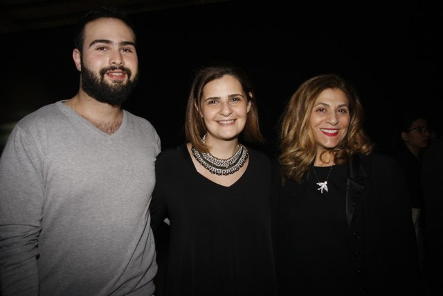 لينا شماع، نايلة بوعزيز، ماهر الكبة
