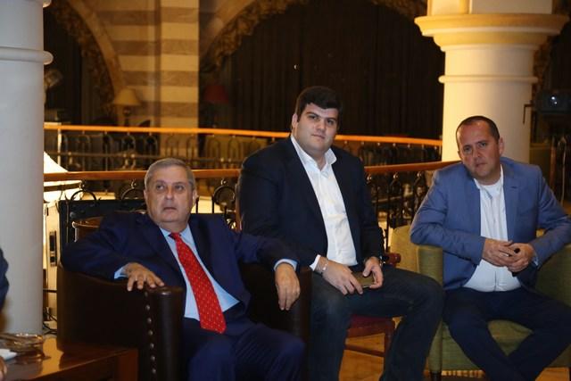 عبدو نجار، ميشال أسمر، يوسف حبيش