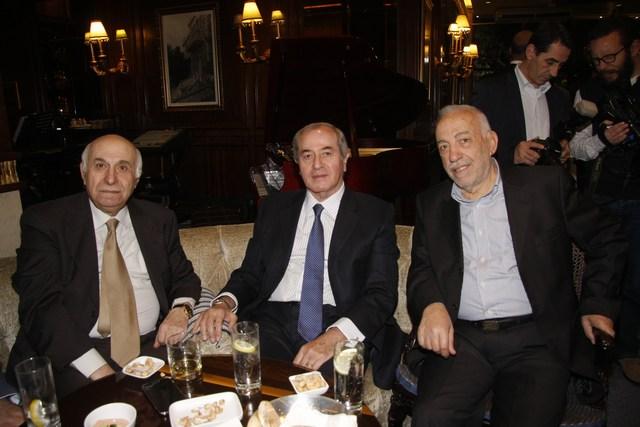 أسامة حلباوي، جان ميشال قمياط، لورانس تفنكجيان